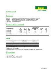 Produktdatenblatt - basi Schöberl GmbH & Co. KG