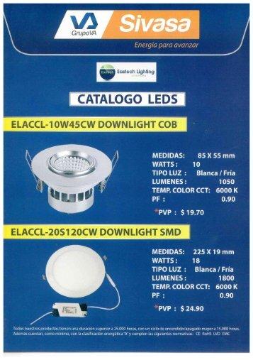 Catálogo LED SIVASA - EASTECH