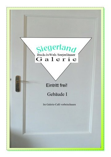 Siegerland: Seejerlänner Galerie