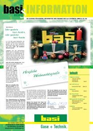 Herzliche Weihnachtsgrüße - basi Schöberl GmbH & Co. KG