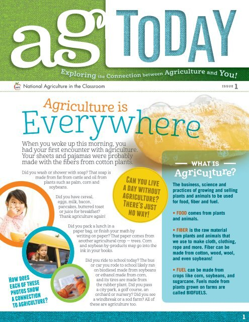 Ag Today: Issue 1