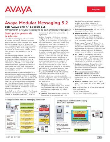 Avaya Modular Messaging 5.2