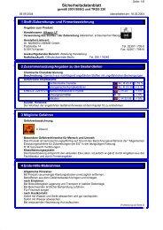 Sicherheitsdatenblatt - basi Schöberl GmbH & Co. KG