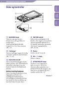 Sony NWZ-A847 - NWZ-A847 Istruzioni per l'uso Norvegese - Page 6