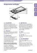 Sony NWZ-A847 - NWZ-A847 Istruzioni per l'uso Tedesco - Page 6