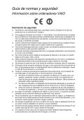 Sony SVT1311Z9R - SVT1311Z9R Documenti garanzia Spagnolo - Page 5