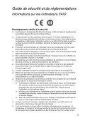 Sony SVT1311Z9R - SVT1311Z9R Documenti garanzia Francese - Page 5
