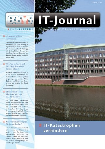 IT-Journal 3-11.indd - BASYS Bartsch EDV-Systeme GmbH