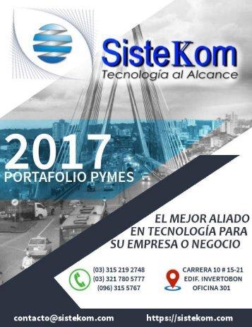 Portafolio de Servicios SisteKom S.A.S