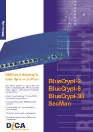 BlueCrypt-2 BlueCrypt-8 BlueCrypt - Audio Video Network Solution ...