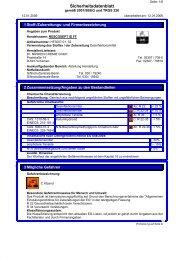 Sicherheitsdatenblatt - medida GmbH & Co.KG