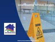 Local Cleaning Services Darebin