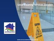 Local Cleaning Services Darebin