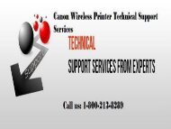 How to Setup Canon Wireless Printer?1-800-213-8289
