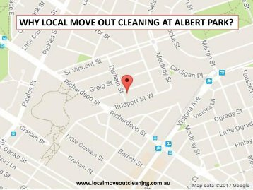 WHY LOCAL MOVE OUT CLEANING AT ALBERT PARK?