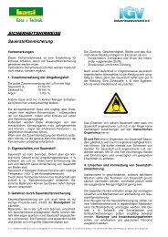 Sauerstoffanreicherung - basi Schöberl GmbH & Co. KG