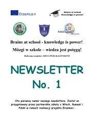 NEWSLETTER_nr 1