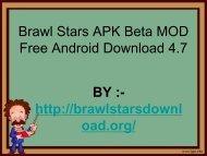 Brawl Stars APK Beta Mod