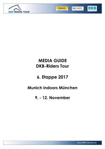 2017 MEDIA GUIDE Muenchen