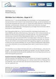 2017-11-10 DKB-Riders Tour in Muenchen - laenger im TV KORREKT