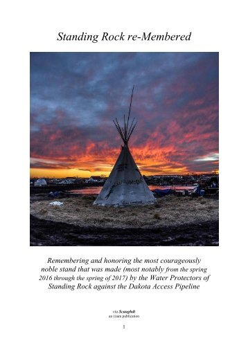 Standing Rock reMembered