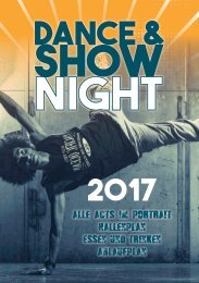 Dance & Show Night 2017 - Das Magazin