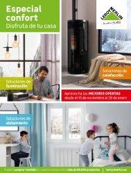 Catálogo LEROY MERLIN Especial confort hasta 29 de Enero 2018