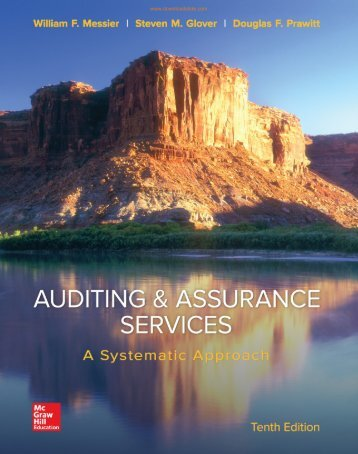 Auditing and Assurance Services 10th ed