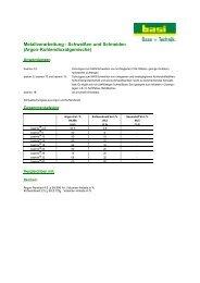 Metallverarbeitung - Schweißen und Schneiden (Argon ...