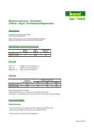 Metallverarbeitung – Schweißen (Helium-, Argon- und ...