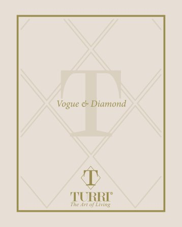 turri Contemporary catalogue 2015 - VOGUE + DIAMOND collection www.luxtarinha.com