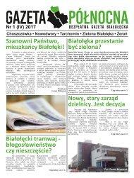 Gazeta Północna nr 1 Kwiecień 2017