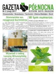 Gazeta Północna nr 2 Maj 2017