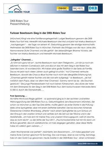2017-11-12 Furioser Beerbaum-Sieg in der DKB-Riders Tour