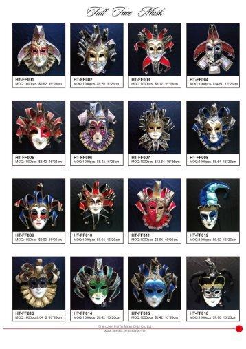 SHENZHEN HUITAI Classic costume Mask