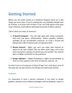 Freelance Designer Guide - How To Be A Successful Freelance Designer - Page 7