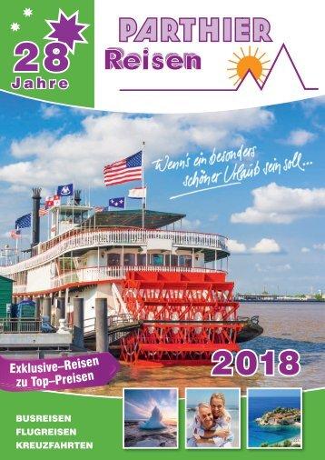 Parthierreisen Sommer 2018