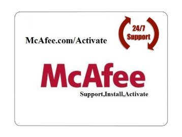 McAfee Activate | www.McAfee.com/Activate