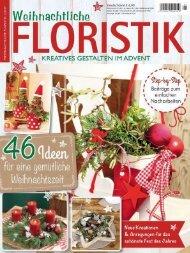 Weihnachtliche Floristik 1/2017