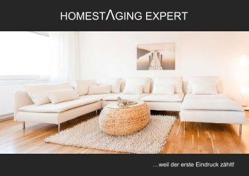 Broschüre Homestaging Expert