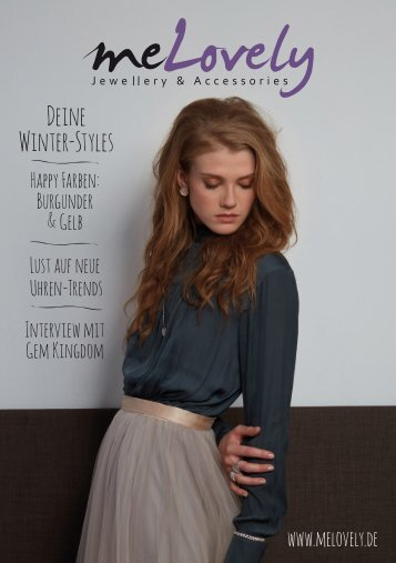 melovely Katalog | Winter 2017