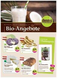 Bio Angebote