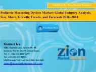 Pediatric Measuring Devices Market