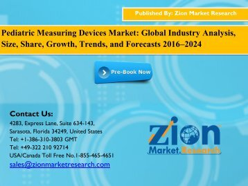 Pediatric Measuring Devices Market