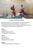 Humanitarian Logistics  Brochure 2017-18 - Page 4