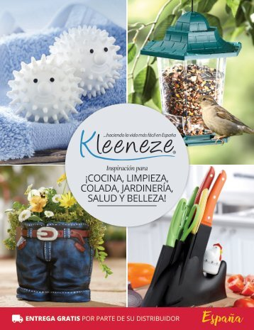 Spain  Kleeneze Classics – Spring/Summer 2018 Issue 1 (Spanish version)