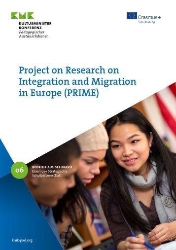 Strategische Schulpartnerschaft zum Thema Migration und Integration