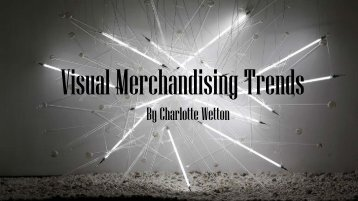 Visual Merchandising Trends
