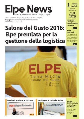 ELPE NEWS OTTOBRE-NOVEMBRE 2017