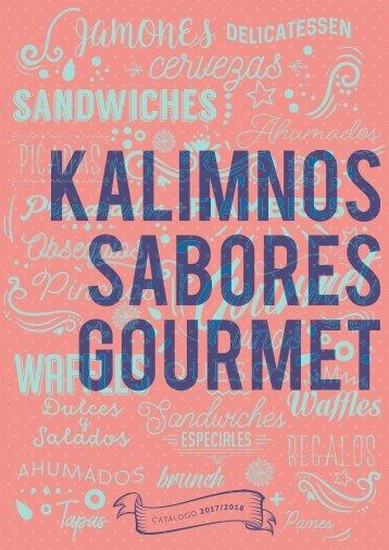 Catalogo Kalimnos Sabores Gourmet 2017